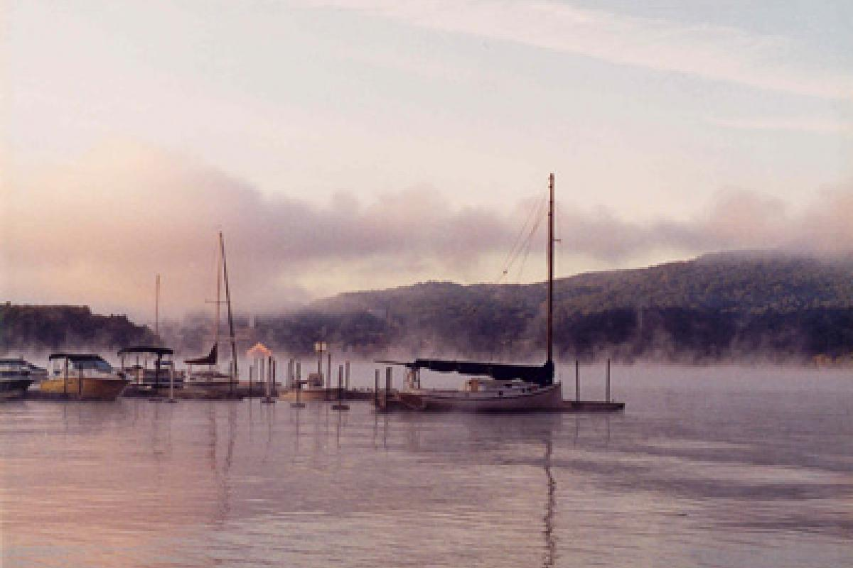 Cold Spring Boat Club  by Gregory Phillips
