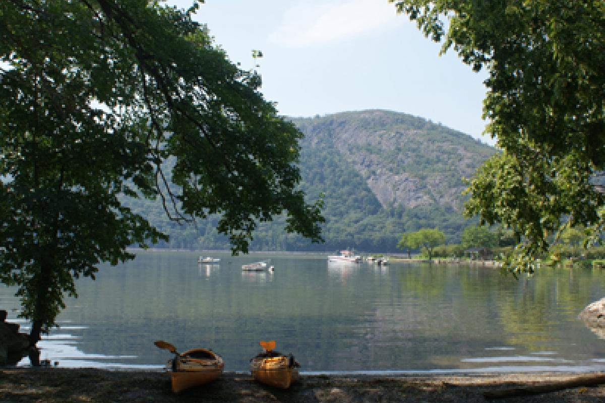Hudson River in August by Blaze Nowara
